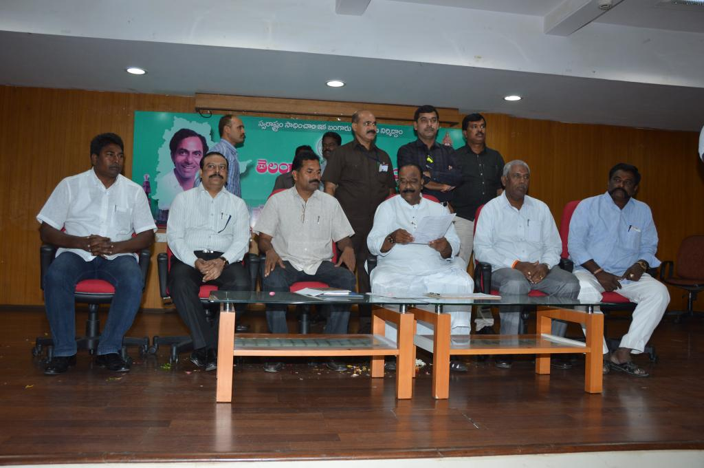 TS HM N.Narshimha Reddy meeting with Police Officers Association at Secretariat on5.8.2014. Gallery