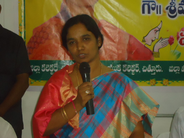 P.SUNITHA, MINISTER FOR FOOD AND CIVIL SUPPLIES -GOVT. OF AP VISIT AT MADANAPALLE ON 04.08.2014 Gall