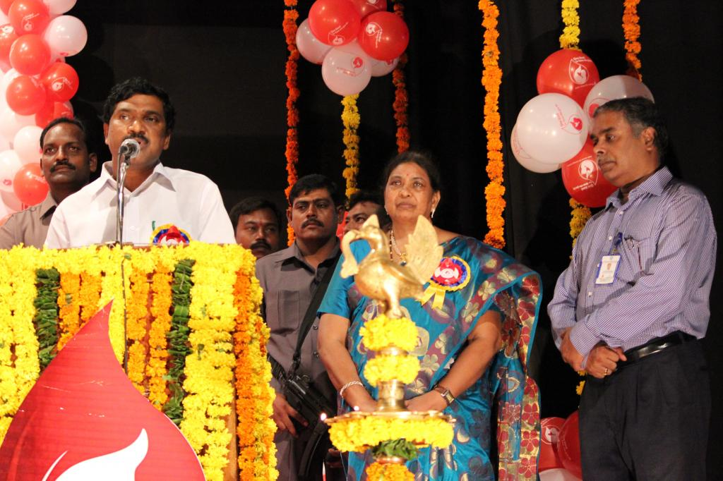11th World Blood Donors Day – 2014 on 14th June, 2014 at Ravindra Bharathi, Hyderabad Gallery
