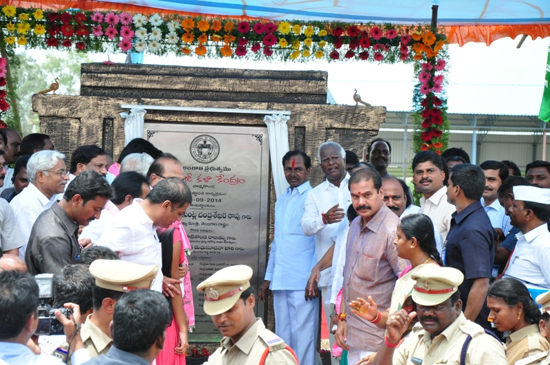 TS CM KCR in Warangal Tour Programme on 9-9-2014 Gallery