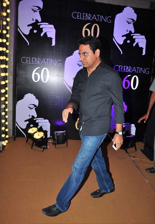 CHIRANJEEVI\'S 60The BIRTHDAY CELEBRATIONS