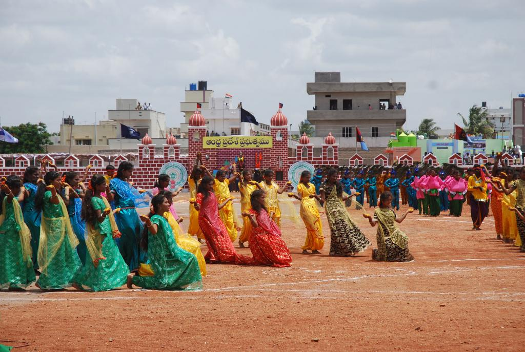 68th Independence Day Celebrations by AP CM N.Chandra Babu Naidu on 15.8.2014 at Kurnool Dist. Gall