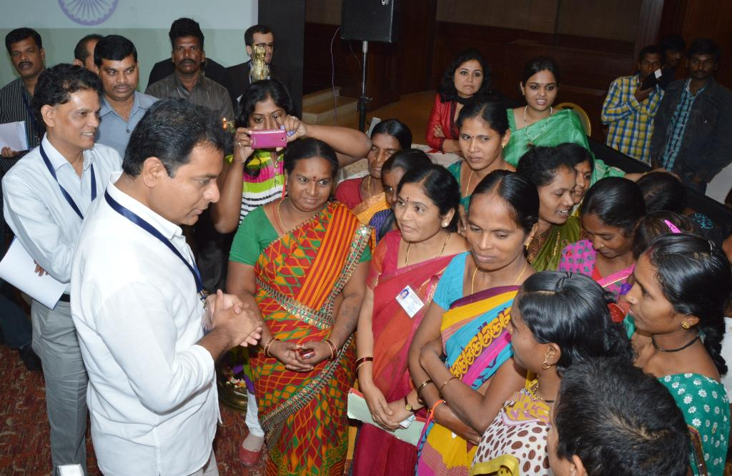 TS MINISTER K.T. R INAUGURATING THE INTERNATIONAL WORKSHOP ON WOMEN EMPOWERMENT ON 17.9.14. Gallery