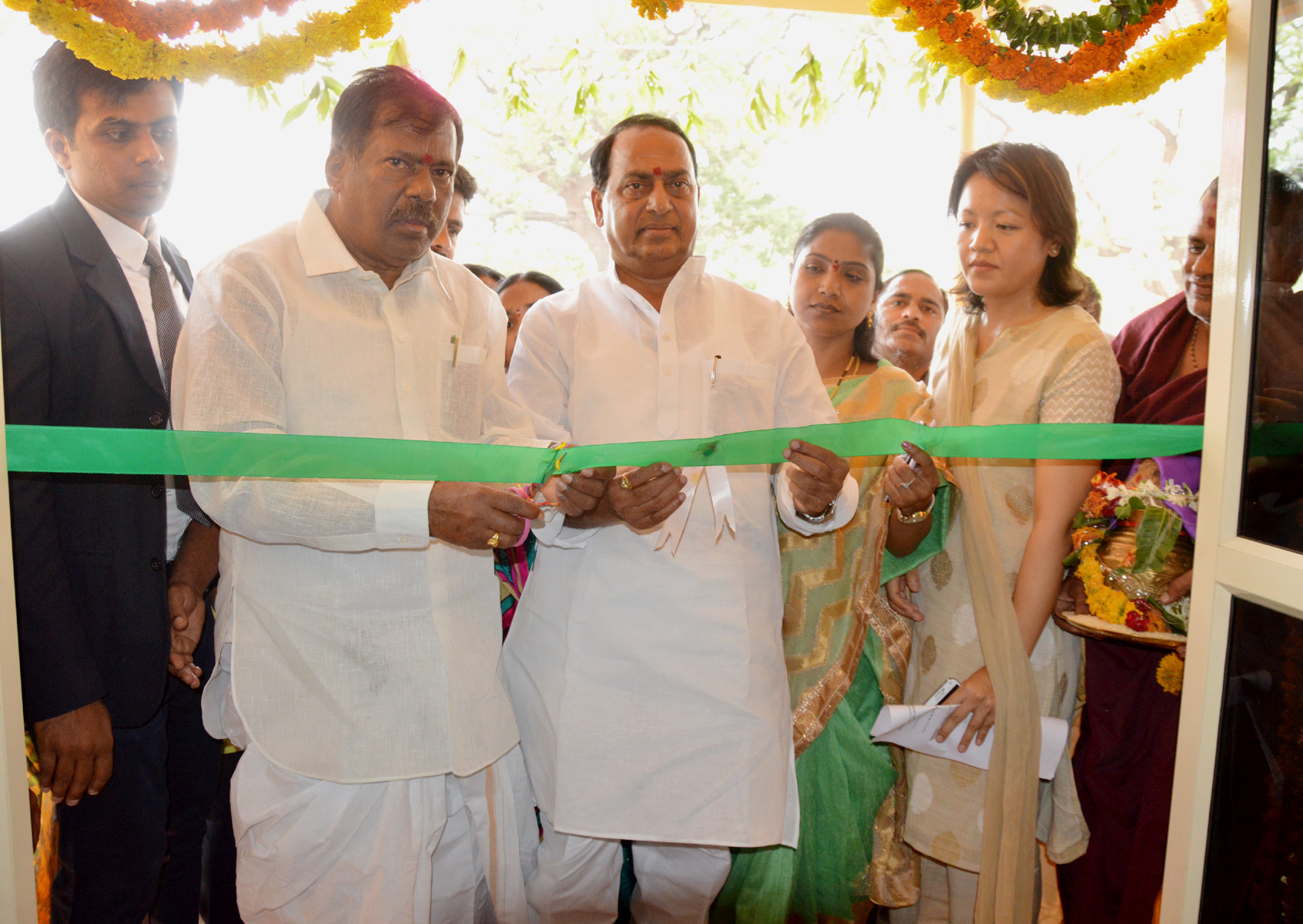 Haritha Resorts at Kadam Reservoir in Adilabad District Inauguration by TS Minister Azmeera Chandulal for Tourism & Culture on 27-05-2015