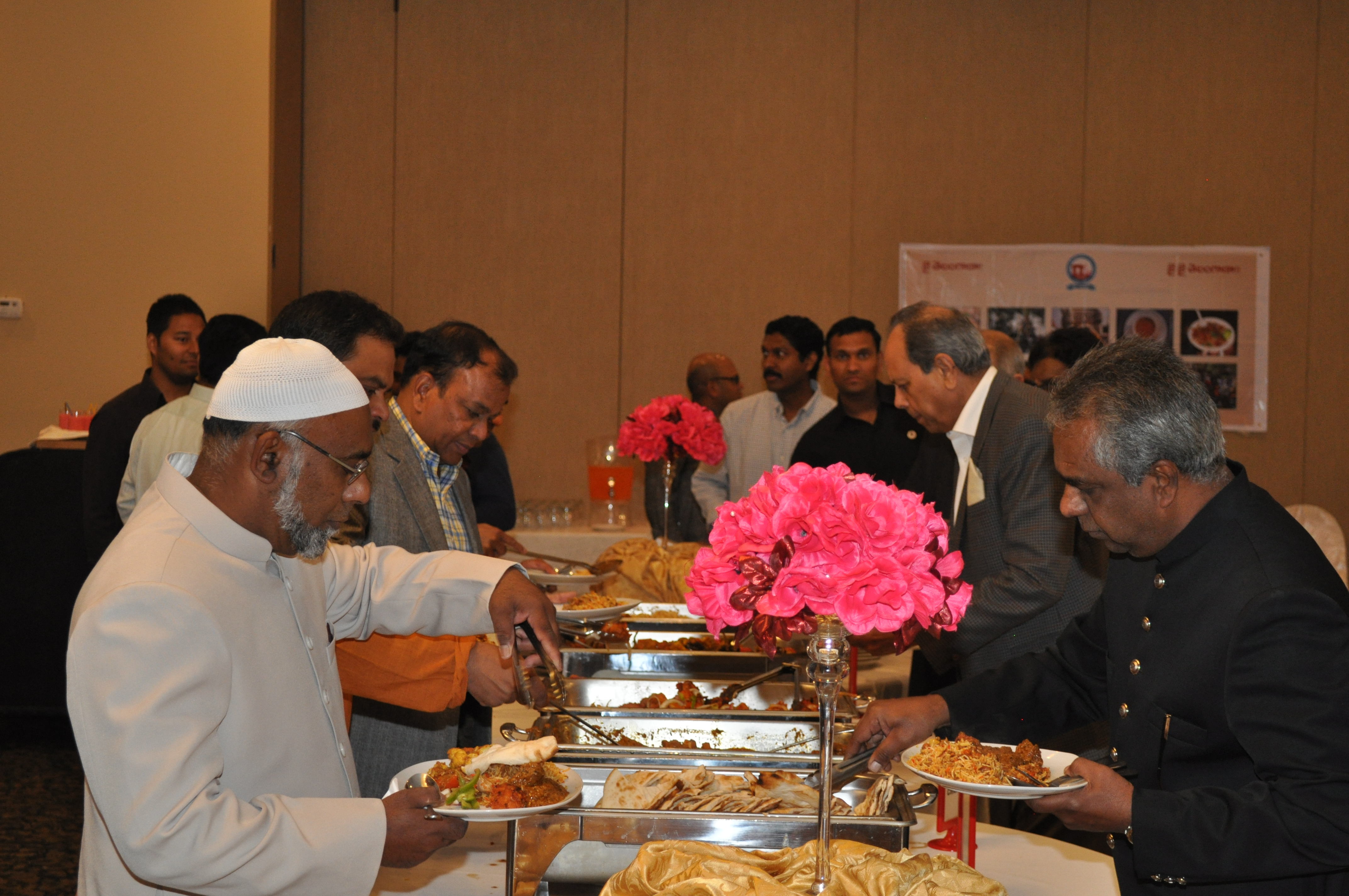 Telangana Development Forum Canada has hosted an IFTAR party on July 27, 2015 at Pearl Banquet and Convention centre