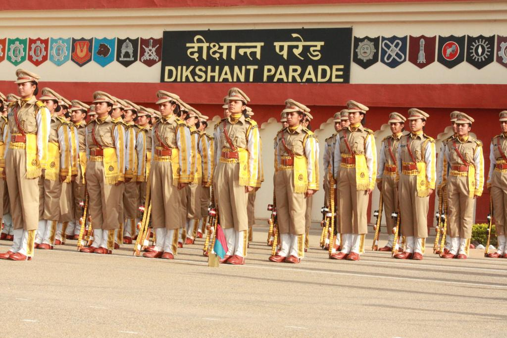 Passing out parade of 28th batch at  NISA  Hakimpet on 3.8.14. chief guest mos for Home Affairs,goi