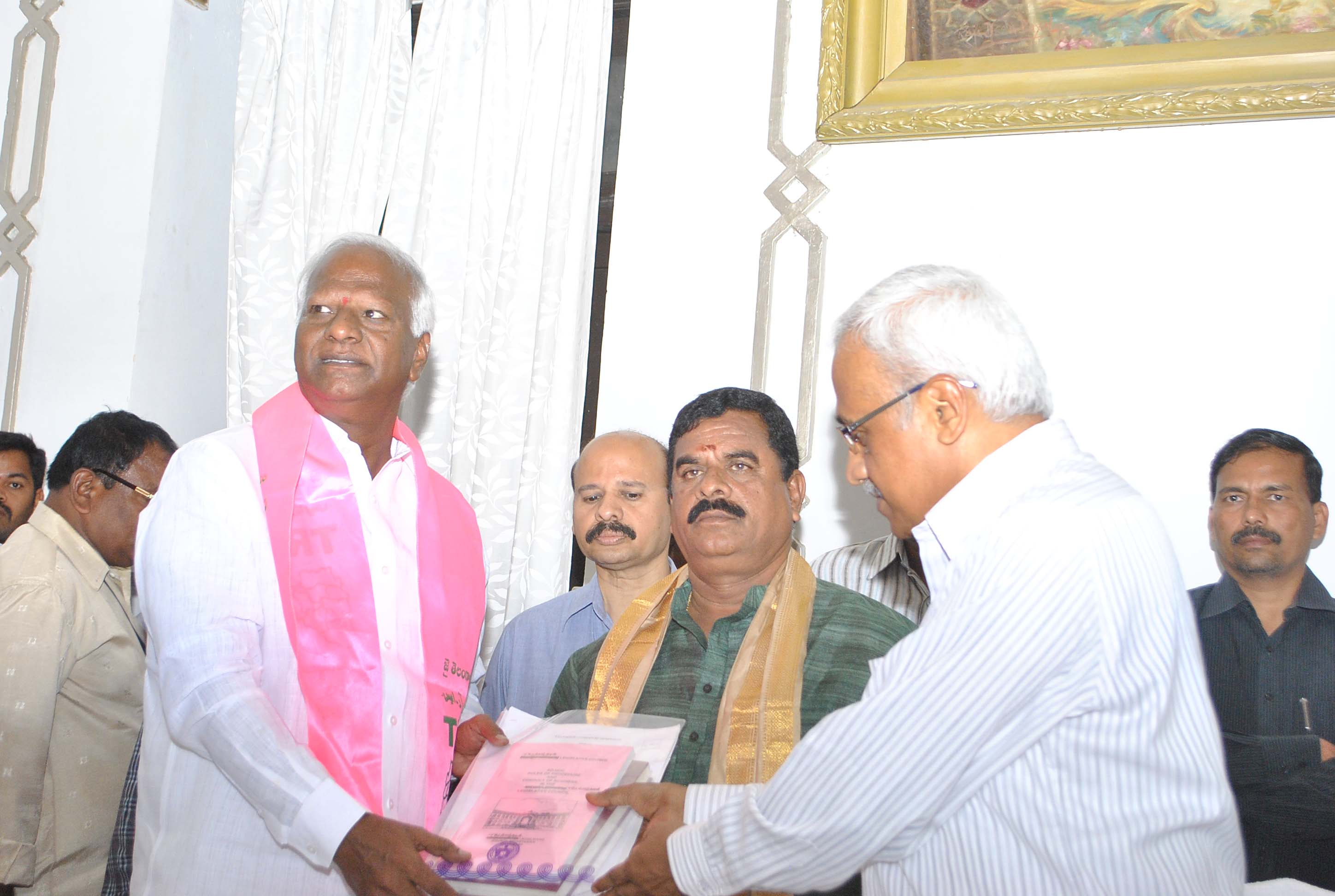Newely Elected Telangana MLCs Takes Oath In Legislative Council on 04-06-2015