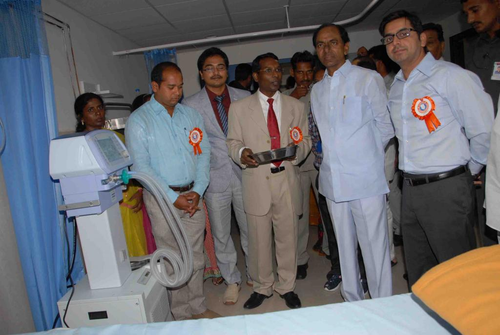 CM of Telangana K.Chandrashekar Rao at Inauguration Cygnus Institute on 3.8.2014 Gallery