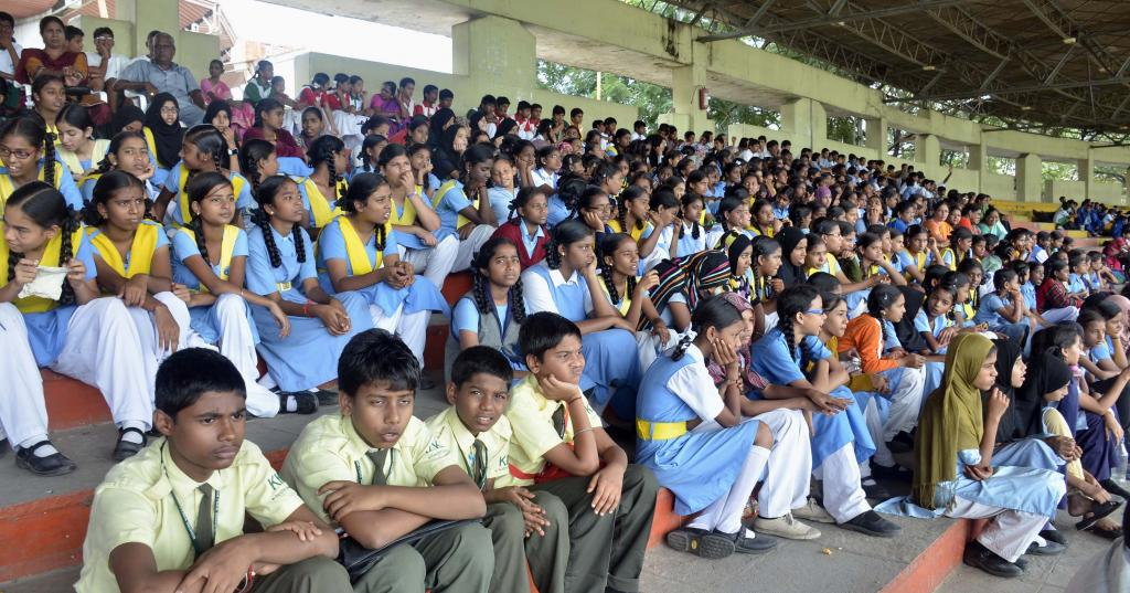 60th Inter School Dist Level Sports and Games Tournament Cum Selection At L.B.Stadium Hyd on Aug4 G