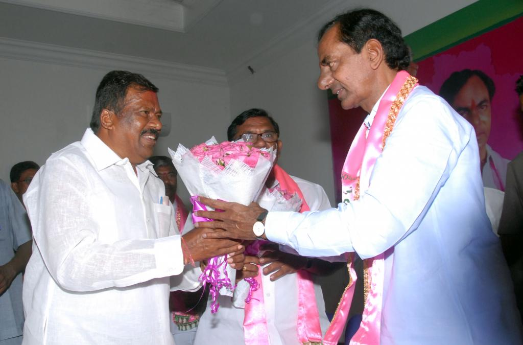 KCR ADDRESSING AT THE TRSL MEETING ON SATURDAY 17TH MAY-2014 GALLERY