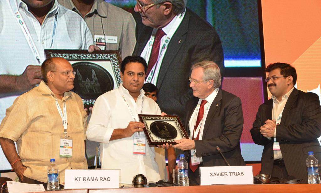 TS MINISTER KTR AT XI METRO POLIS WORLD CONFERANCE AT HITEX ON 8.10.14. Gallery