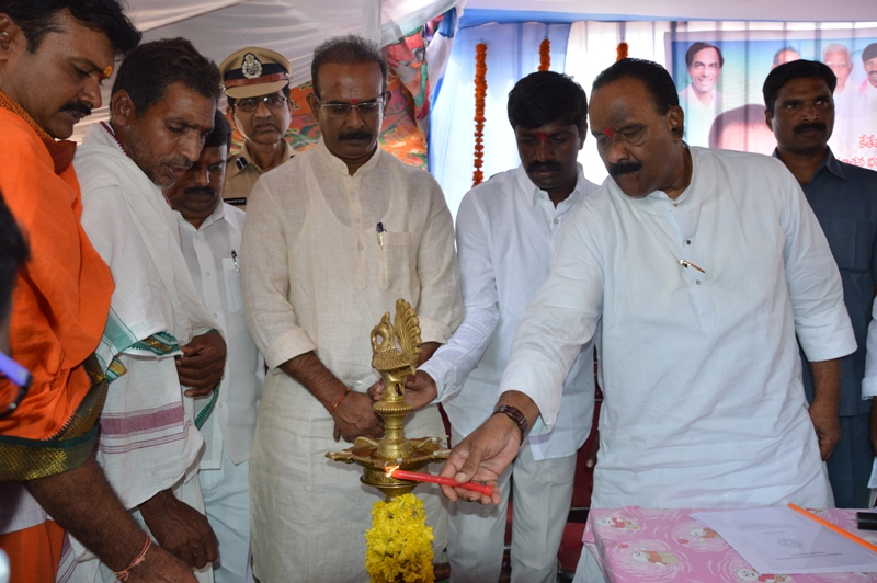 TS HM N.NARSIMHA REDDY INAUGURATED KETHEPALLY PS BUILDING IN NALGONDA DISTRICT ON Aug3. Gallery