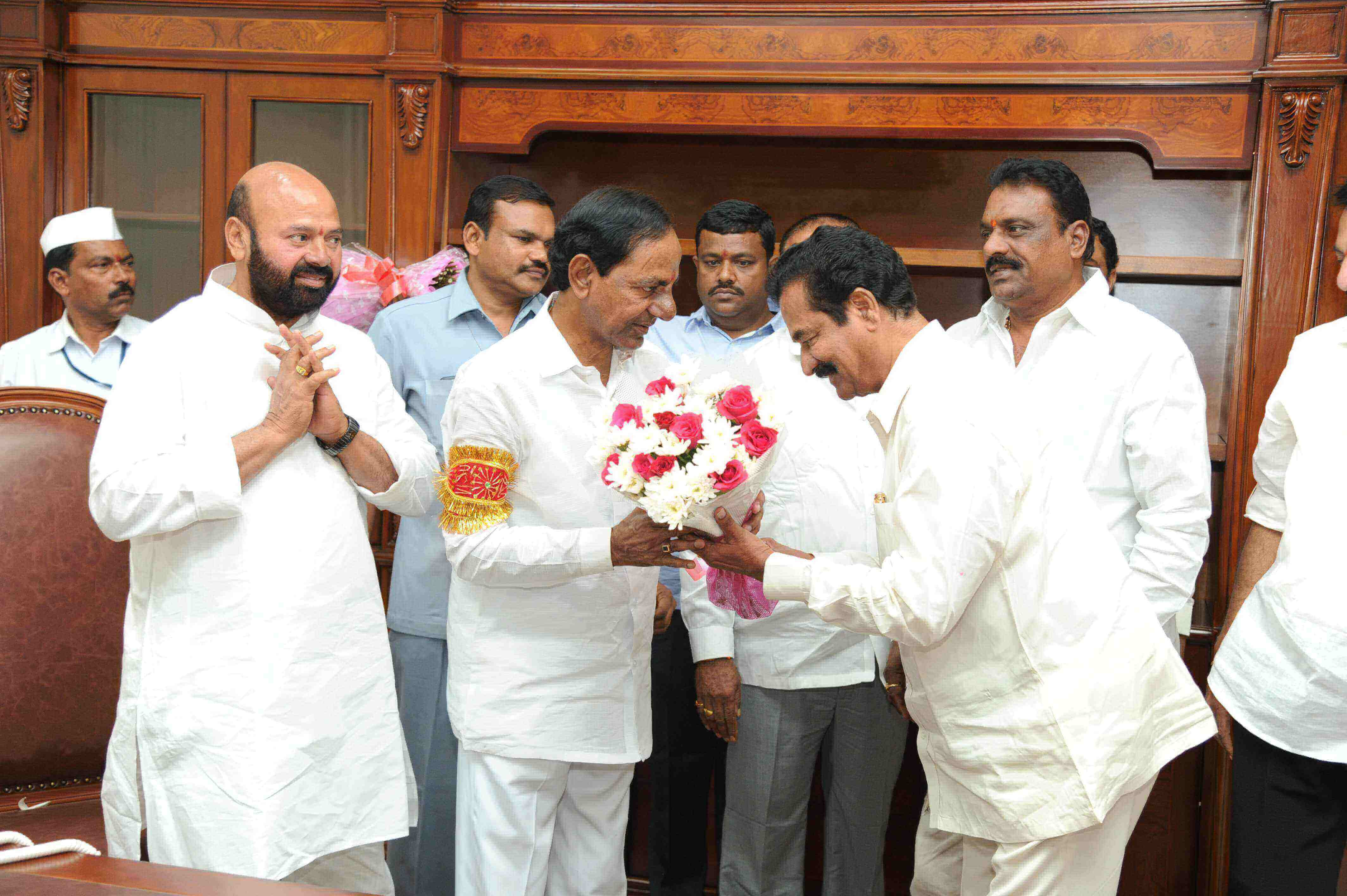 Several Ministers, Members of the Parliament, Members of the Legislative Assembly, Council, Government Advisors, officials and prominent personalities have conveyed their birthday greetings to Telangana CM K Chandrashekhar Rao on. 17.02.2017.