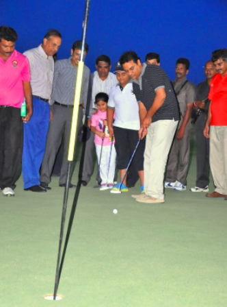 TS Minister K T R inaugurated 18 holes golf course at Golkonda fort on 23.8.14 Gallery