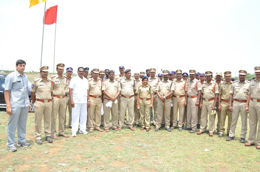 Mission Kakatiya works adopted by Medak District Police