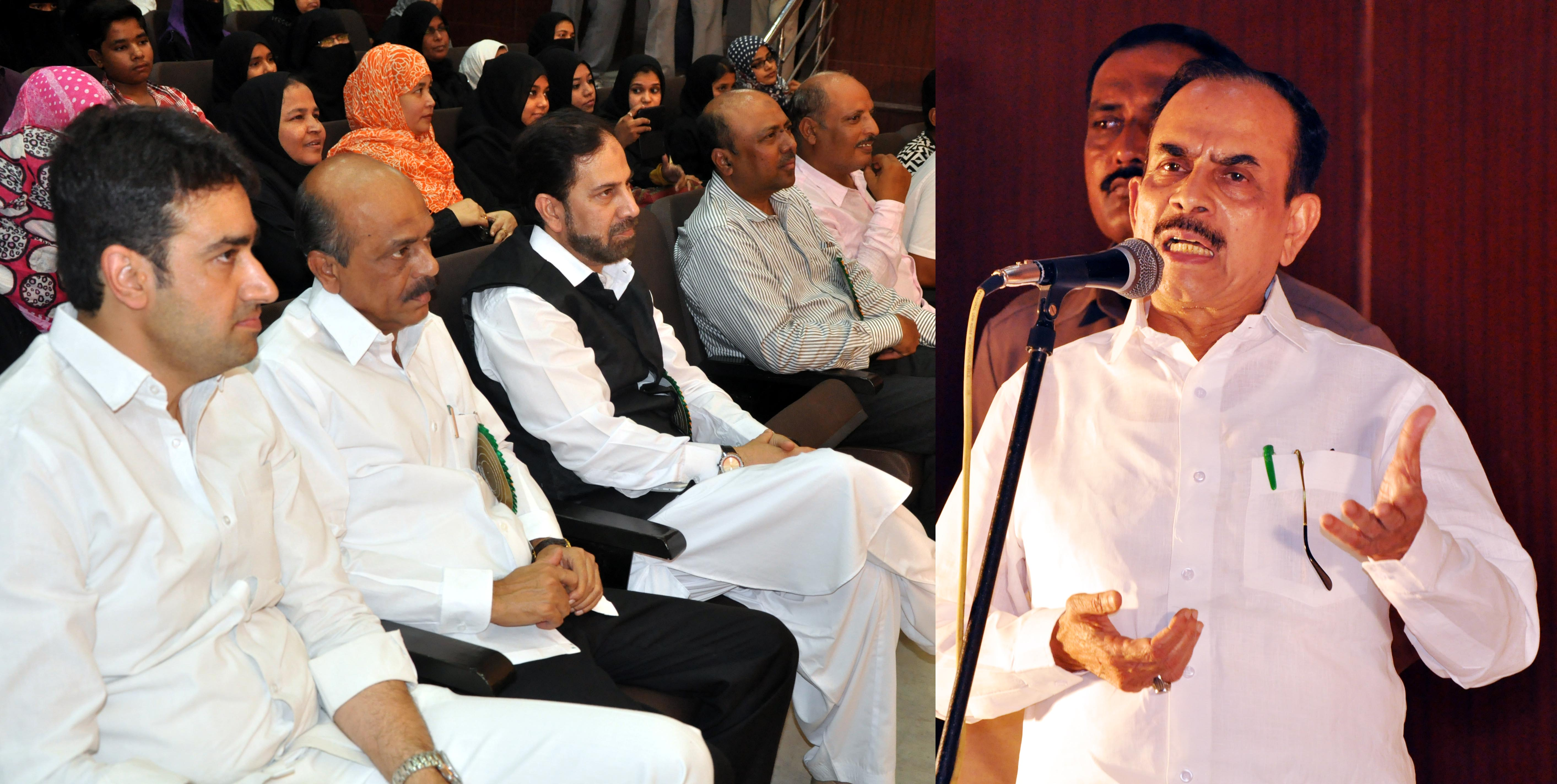 TS Deputy Chief Minister Mohammed Mahmood Ali (Revenue) assures development of Urdu language News and Photos