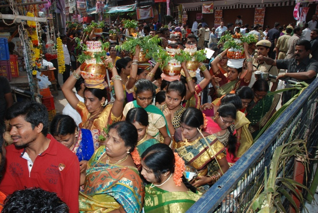 BONALU AT SHRI UJJANI MAHANKALI TEMPLE SECUNDERABAD, HYDERABAD.