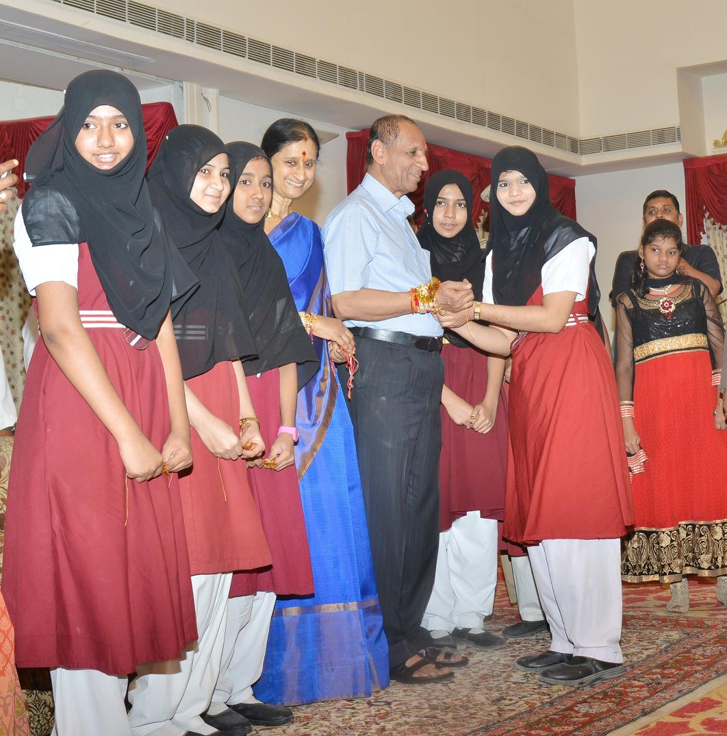Raksha Bandhan Celebrations at Raj Bhavan