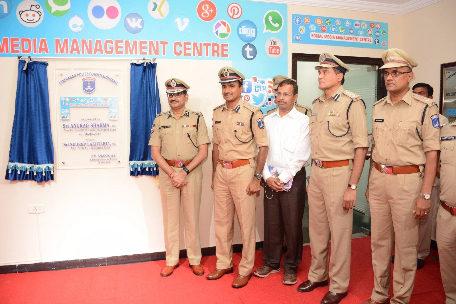 Social media management center inauguration