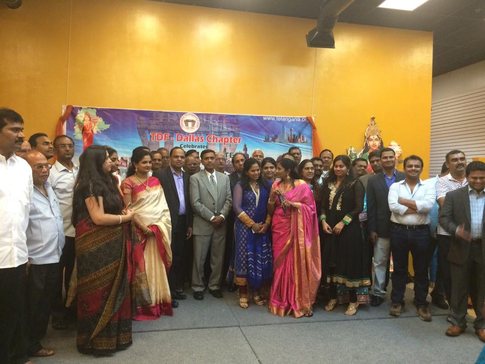telangana formation celebrations in USA