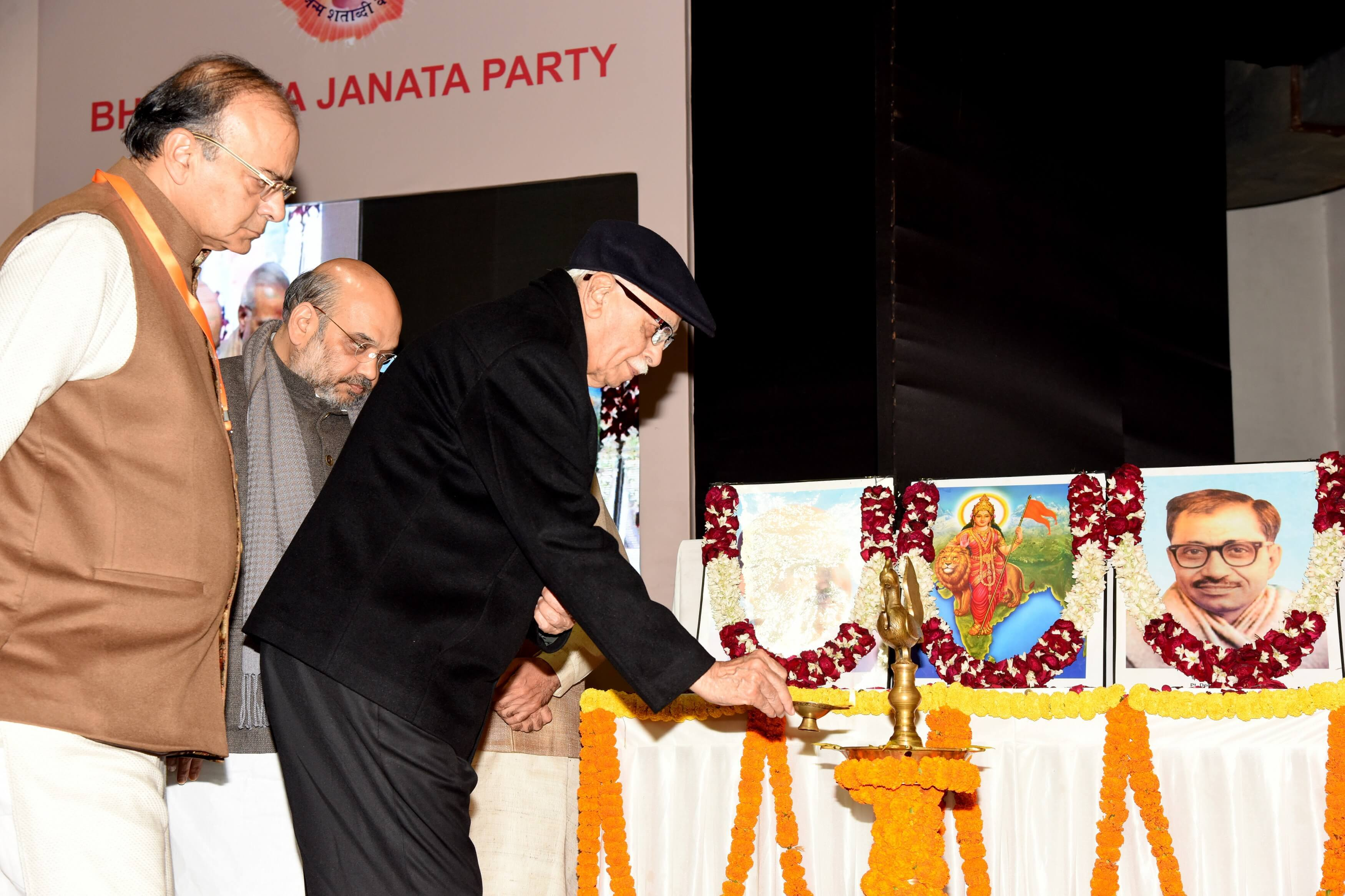BJP National President, Amit Shah inauguration of BJP National Executive Meeting in New Delhi on 06.01.2016
