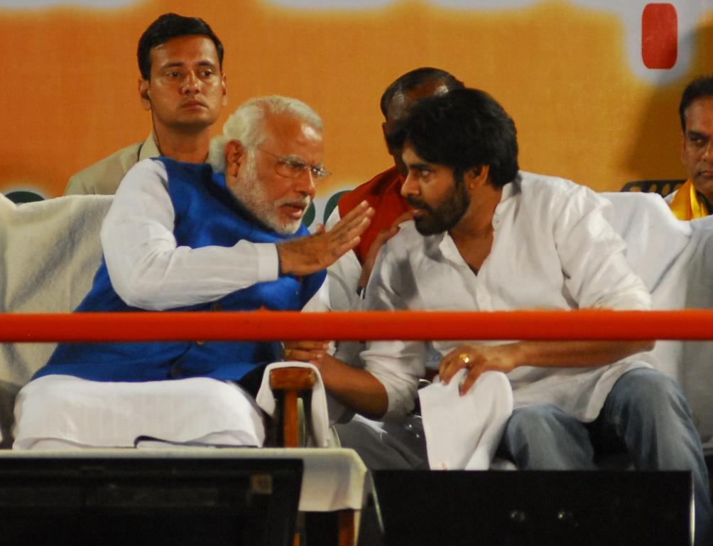 BJP MODI WITH PAVANKALYAN GALLERY
