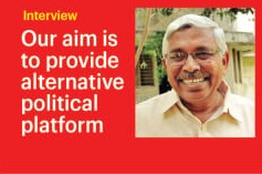 Our aim is to provide alternative political platform