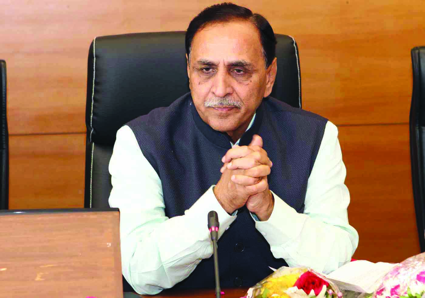 Vijay Rupani sworn-in as Chief Minister of Gujarat