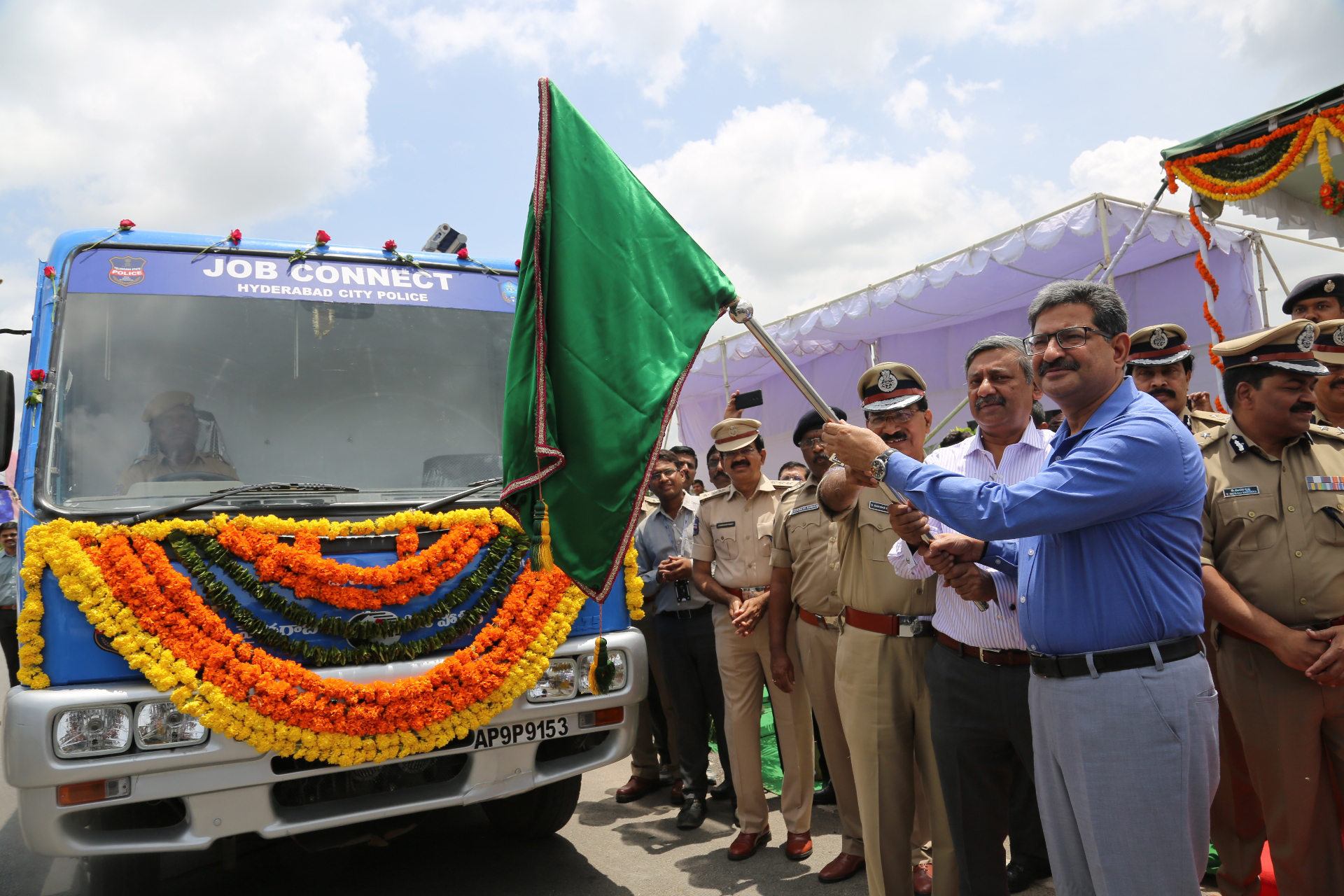 DGP launches Job Connect Van