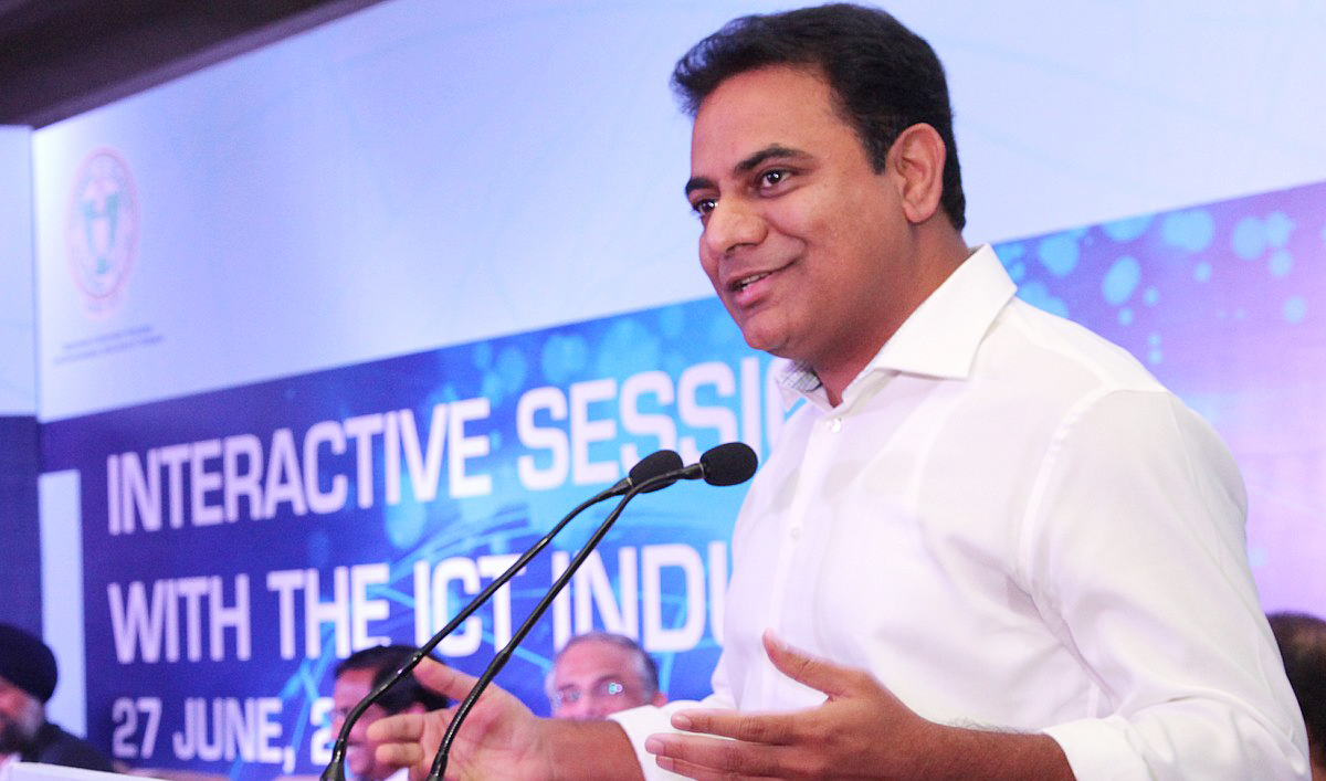 Chandrababu Naidu Made Hyderabad An IT Hub KTR